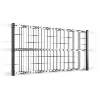 3D fence element Cross Panel Ø5.0 mm Zn + Ral