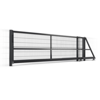 3D panel sliding gate Zn + Ral 3500mm-5500mm