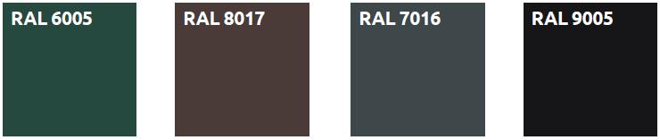 Elementtiaita RAL väri